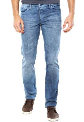 Calça Jeans Calvin Klein Jeans Reta Slim Azul