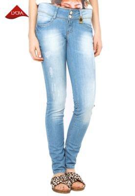 Calça Jeans Osmoze Skinny Puído Azul