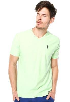 Camiseta Aleatory Authentic Verde