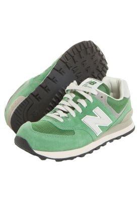 Tênis New Balance 574 Classic Verde