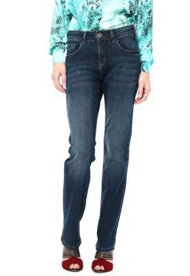 Calça Jeans M.Officer Skinny Estonada Azul
