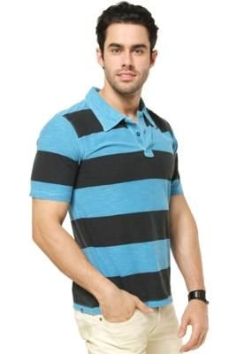 Camisa Polo Hang Loose Glory Azul