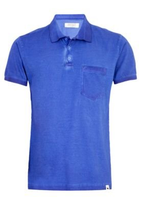 Camisa Polo FiveBlu Pocket Azul