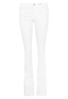 Calça Jeans Canal Reta Fivela Off-white