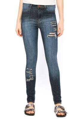 Calça Jeans Shop 126 Skinny Indigo Azul