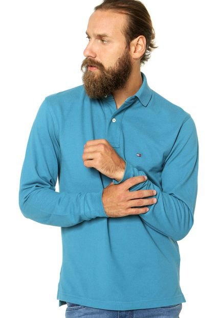 Eu moda  Camisa polo tommy infantil piquet 40a7b12764