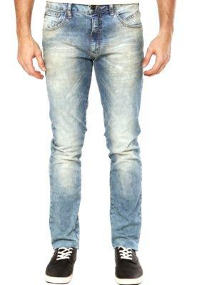 Calça Jeans Triton Reta New Skinny Estonada Azul
