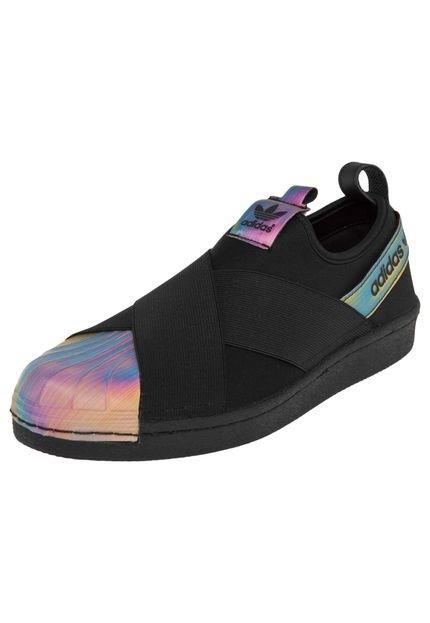 Tênis adidas Originals Superstar Slipon W Preto