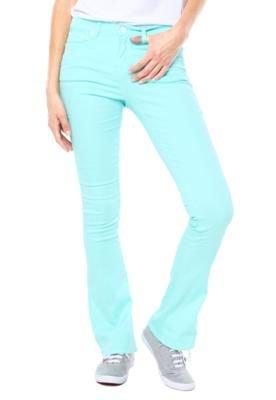 Calça Sarja Calvin Klein Jeans Bootcut Clean Azul