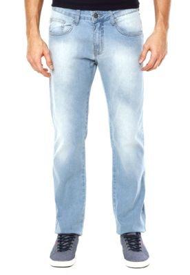 Calça Jeans Colcci Reta Alex Estonado Azul