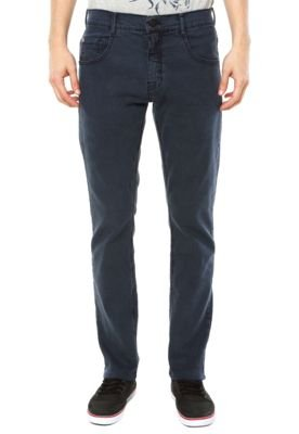 Calça Jeans Billabong Skinny Slim Gregg Azul