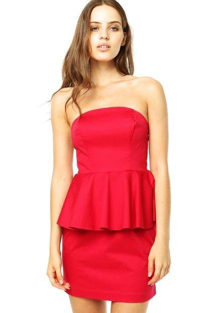 Vestidos vermelhos para balada de Bárbara Evans