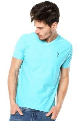 Camiseta Aleatory Basic Azul