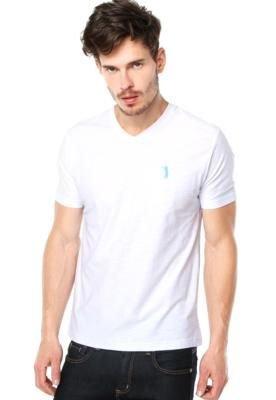 Camiseta Aleatory Basic Branca
