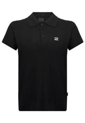 Camisa Polo Billabong Salut Pj Black Inf...