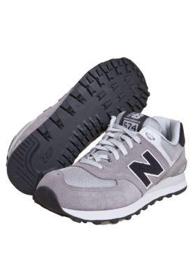 Tênis New Balance ML574 Cinza