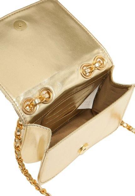 Bolsa Dourada Santa Lolla : Bolsa santa lolla metalizado dourada compre agora