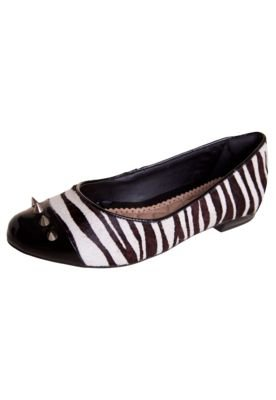 Sapatilha Ramarim Debrum Salomé Pirâmides Zebra