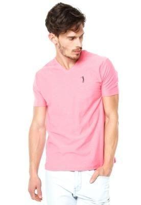 Camiseta Aleatory Golf Rosa