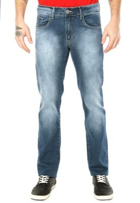 Calça Jeans Sommer Reta Rafael Azul