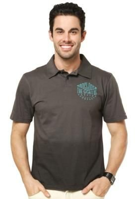 Camisa Polo Hang Loose Spirit Cinza
