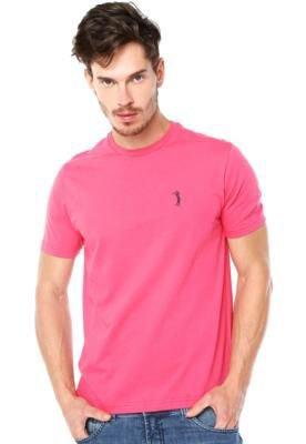 Camiseta Aleatory Basic Rosa
