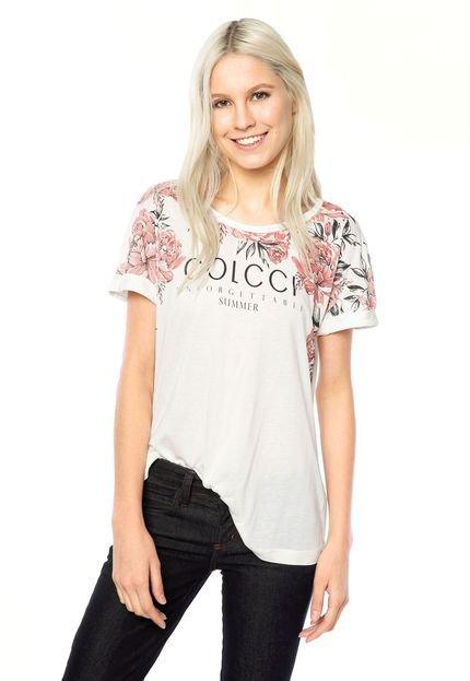 Camiseta Colcci Summer off white