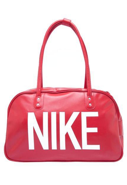 Bolsa Nike Heritage Ad Should Club Feminina : Bolsa nike heritage ad shoulder club vermelho compre