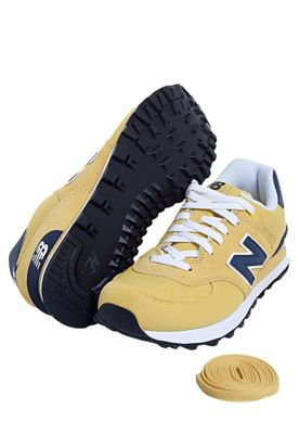 Tênis New Balance 574 Nature Pack Amarelo