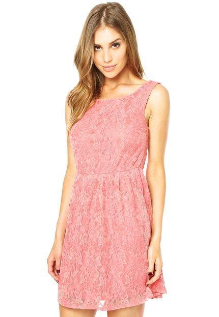Conhecido Vestido rosa chá de Reese Witherspoon – Vestidos para o Verão DZ62