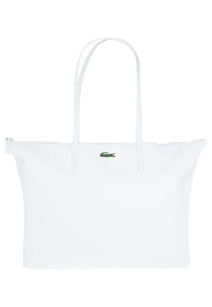Bolsa Lacoste Blanc Branca : Bolsa lacoste de m?o branca compre agora dafiti brasil