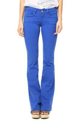 Calça Sarja Coca-Cola Jeans Demi Flare Color Azul