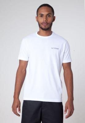 Camiseta Aleatory Monday Branca