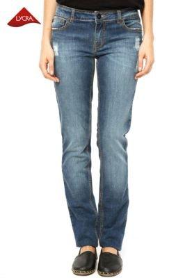 Calça Jeans Ellus Skinny Clas Light Cross Azul