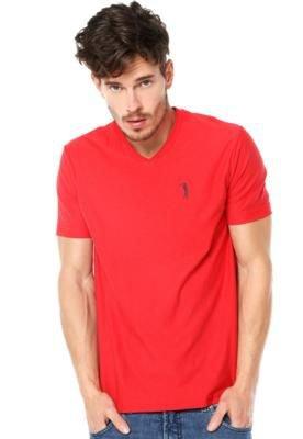 Camiseta Aleatory Authentic Vermelha