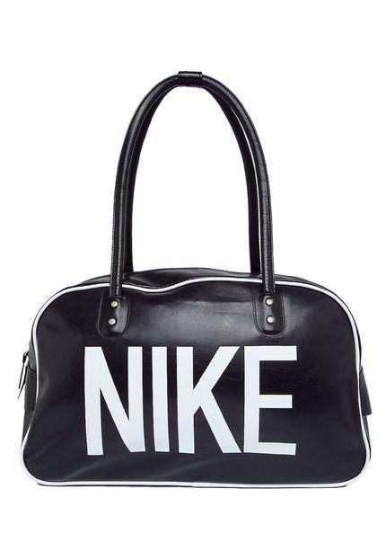 Bolsa Nike Heritage Ad Should Club Feminina : Bolsa nike sportswear heritage ad shoulder club preta