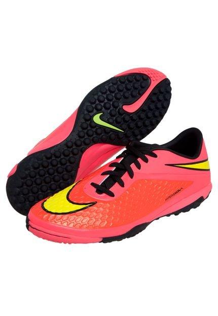 Chuteira Nike Society Hypervenom Rosa - Marca Nike