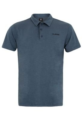 Camisa Polo Billabong Seenu  Azul