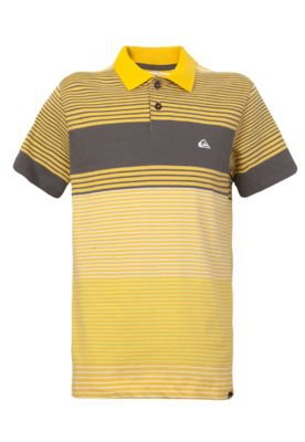 Camisa Polo Quiksilver Juvenil Grade and...
