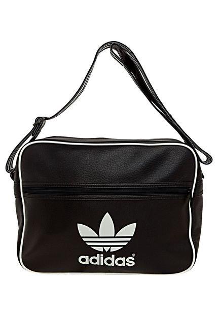 Bolsa Feminina Da Adidas : Bolsa adidas originals airliner classic preto compre