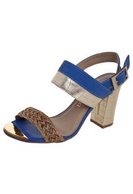 Sandália Dakota Trança Azul