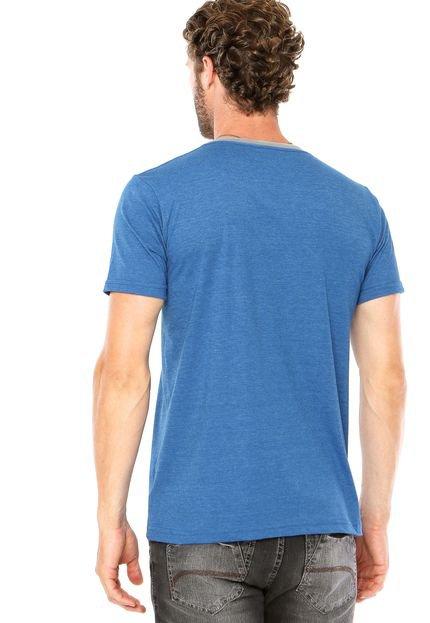 Camiseta Kanui Bolso Azul - Compre Agora | Dafiti Brasil