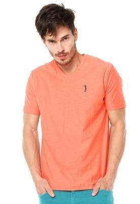 Camiseta Aleatory Golf Laranja