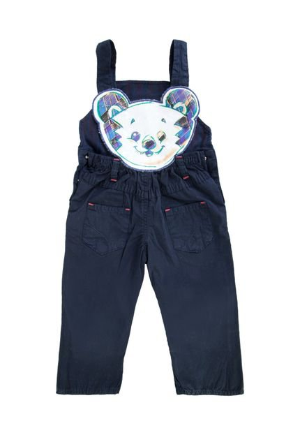 jardineira tigor t tigre pocket azul compre agora