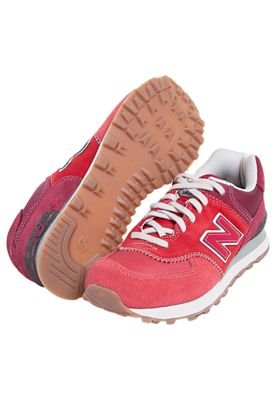 Tênis New Balance 574 Nature Pack Vermelho