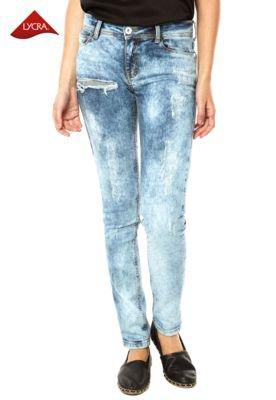 Calça Jeans Ellus Skinny Deep Azul