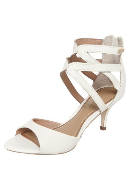 Sandálias de Salto Baixo Sandalia Salto Baixo Tiras e