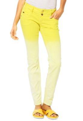 Calça Jeans Colcci Gradient Amarela