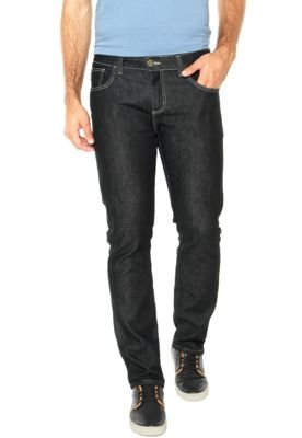 Calça Jeans Triton Straight Reta Lisa Azul
