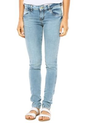 Calça Jeans Pink Connection Skinny Simple Azul